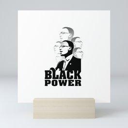 Black Power Martin Luther King Mini Art Print