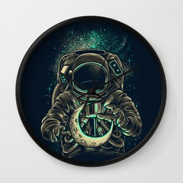 Moon Keeper Wall Clock