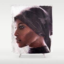 Jasmine Warsame Shower Curtain