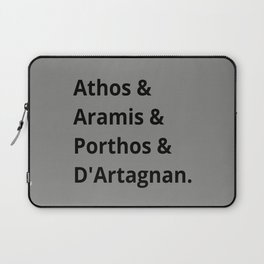 The Three Musketeers Characters I Laptop Sleeve