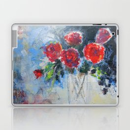 Roses in Rouge Laptop & iPad Skin