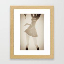 Plastic Erotica: Skirt Framed Art Print