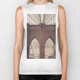 Moody Brooklyn Bridge Biker Tank