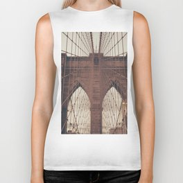 Moody Brooklyn Bridge Biker Tank