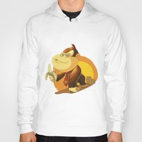 donkey kong Hoodies featuring Kong by Rod Perich