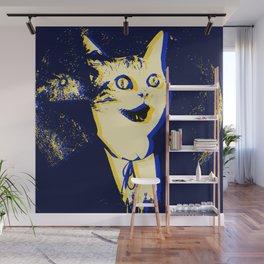 Horror Cat Wall Mural