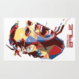Gareth Bale WPAP 2 Rug