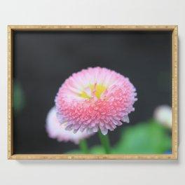 Kayla's Pink Flower Serving Tray