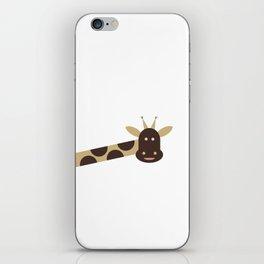 Joyful Giraffe iPhone Skin