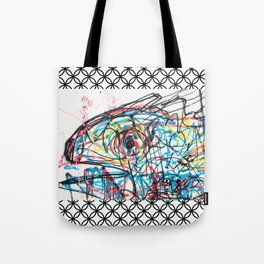 Eye 2 colour Tote Bag
