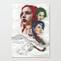 eternal sunshine Canvas Prints featuring Eternal Sunshine by Laura O'Connor