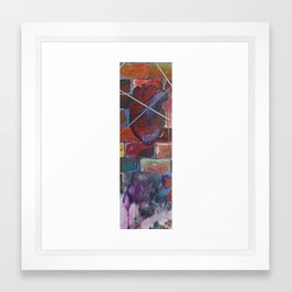 My Heart Can Beat With Bricks and Strings Framed Art Print