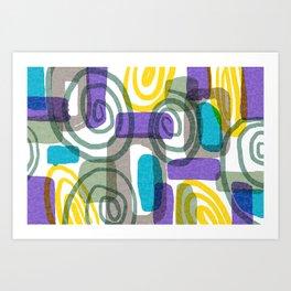 Whirligig Art Print