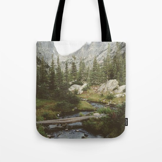 Dream Lake Creek Tote Bag