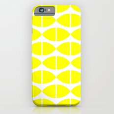 Lemons Pattern iPhone 6s Slim Case