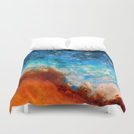 Timelessness - Original Abstract Art by Vinn Wong Duvet Cover