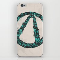 borderlands iPhone & iPod Skins featuring Borderlands 2 by Bill Pyle