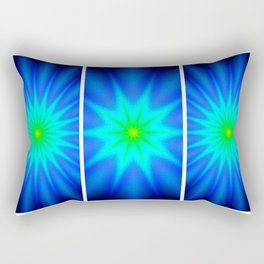 Power of Three Stars Rectangular Pillow