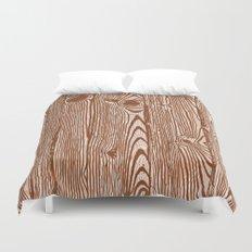 c13D Woodgrain Duvet Cover