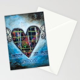 Love is the Answer Stationery Cards