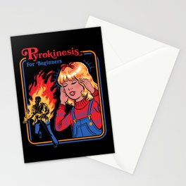 PYROKINESIS FOR BEGINNERS Stationery Cards