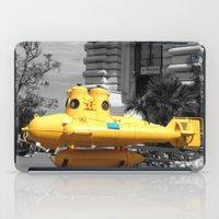 yellow submarine iPad Cases featuring yellow submarine  by 33bc
