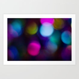 Bright Lights #3 Art Print