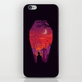 To The Grave iPhone Skin