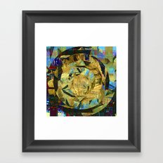 Saturday 26 October 2013: Ask him no questions and he'll tell you no lies... Framed Art Print