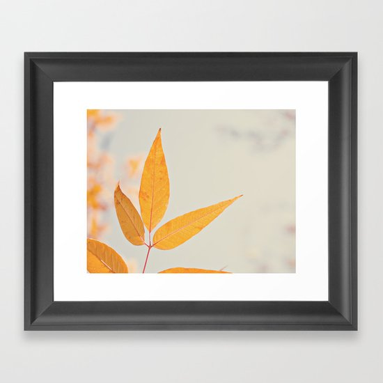 Autumn Three Framed Art Print