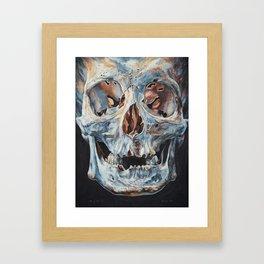 Skull I. Framed Art Print