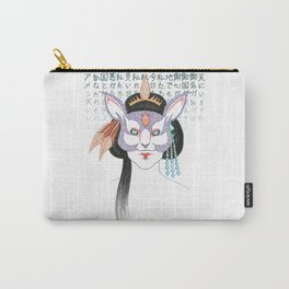 Kitsune, Geisha Mask Carry-All Pouch
