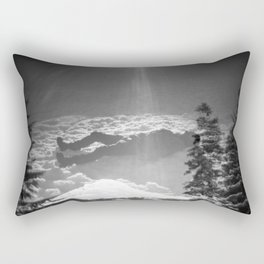 """Elevation"" - Holga Double Exposure Rectangular Pillow"