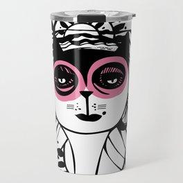 Catalina pink Travel Mug