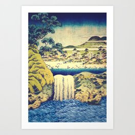 To Pale the Rains in August Art Print