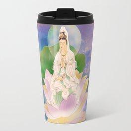 Lotus-sitting Avalokitesvara Travel Mug