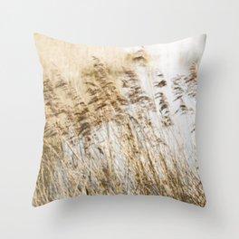 Riverside Grass Throw Pillow