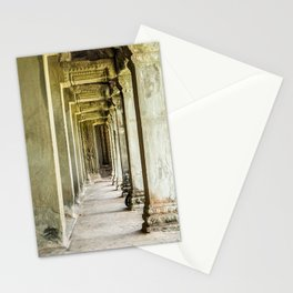 Angkor Wat Leading Lines II, Cambodia Stationery Cards
