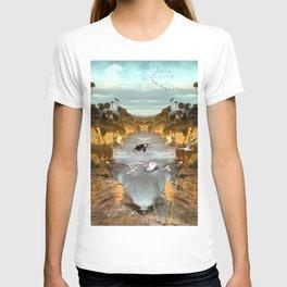 Fantasy Laguna beach T-shirt