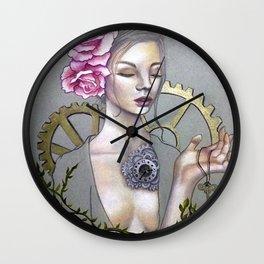 Corazón-Reloj Wall Clock