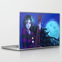 marceline Laptop & iPad Skins featuring Marceline, the vampire queen by Nillusart