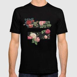 floral equality symbol T-shirt