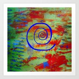Brane spiral S23 Art Print