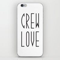 animal crew iPhone & iPod Skins featuring Crew by xMaxie77
