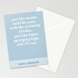 Still I Rise Stationery Cards