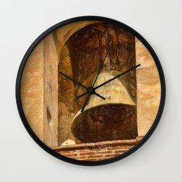Church Bell Oaxaca, Mexico Wall Clock