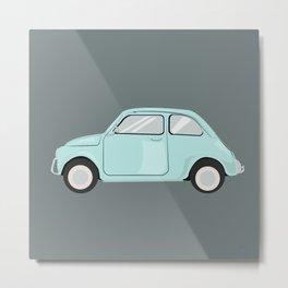 Blue June Bug Metal Print