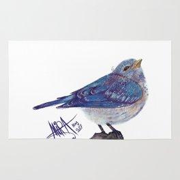 Blue Bird Rug