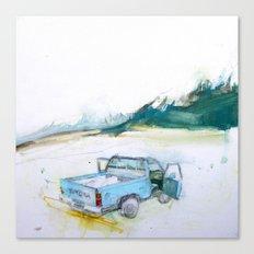 Mammoth Lakes CA Canvas Print