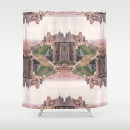 Chateau Photographic Pattern #2 Shower Curtain